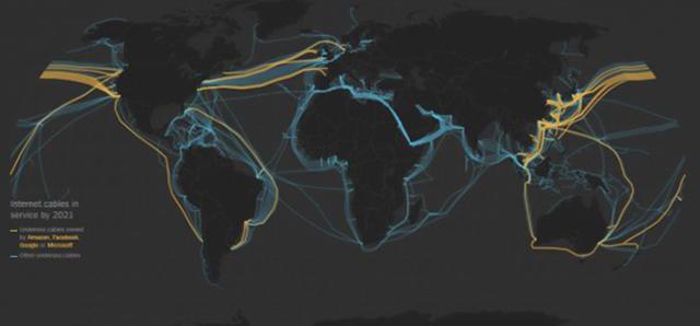 海底光缆如今已经成为保证全球各大区域网络之间能够互联互通的主动脉