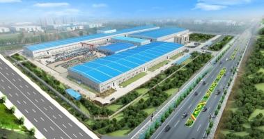 2014年末,河南胜华电缆工业园竣工