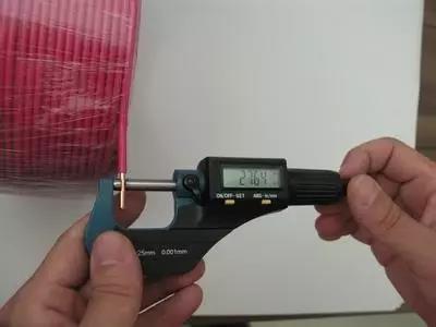 导体截面积测量